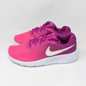 Nike Tanjun Print Girls Running Shoes AV8858-500